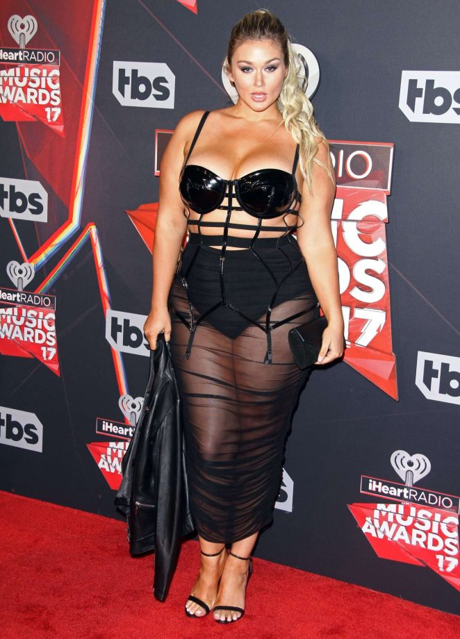 Hunter McGrady - 2017 iHeartRadio Music Awards in Los Angeles