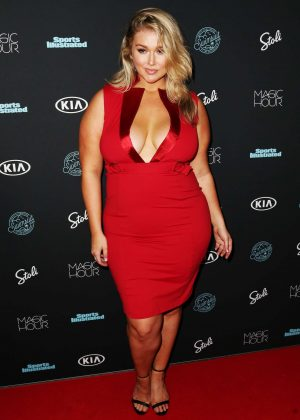 Hunter McGrady - Sports Illustrated Swimsuit 2018 Launch Event in NY