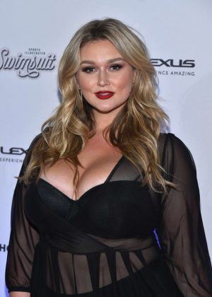 Hunter McGrady - Sports Illustrated Swimsuit Edition Launch Event in NY