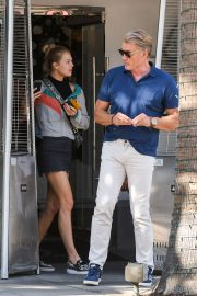 Ida and Dolph Lundgren - Out in Los Angeles