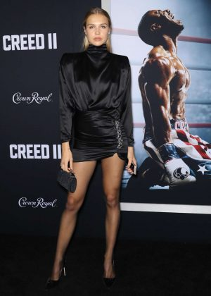 Ida Lundgren - 'Creed 2' Premiere in New York