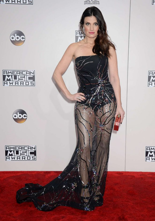 Idina Menzel – 2016 American Music Awards in Los Angeles