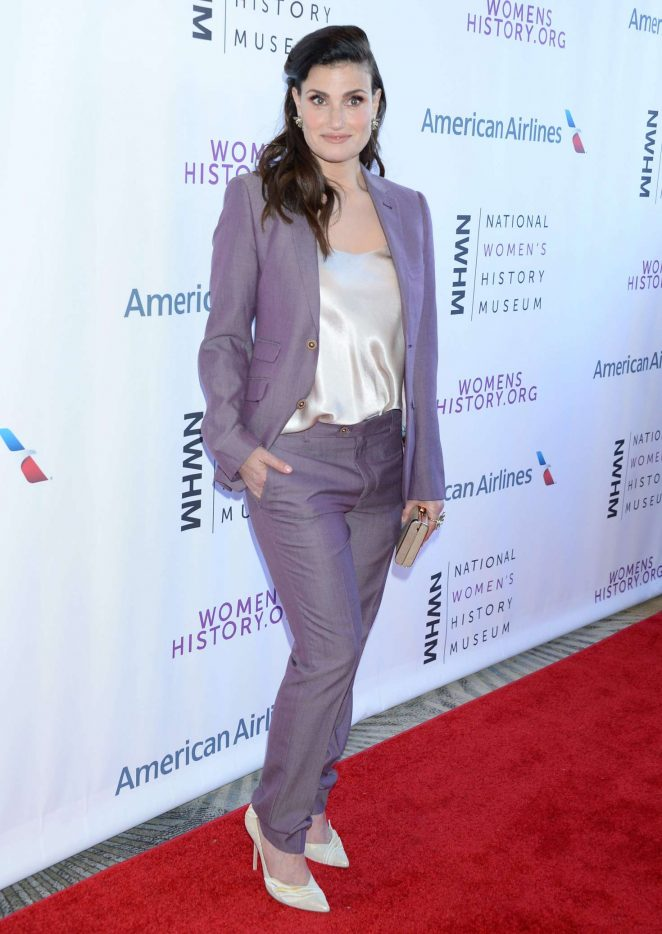 Idina Menzel – 7th Annual Women Making History Awards in Beverly Hills