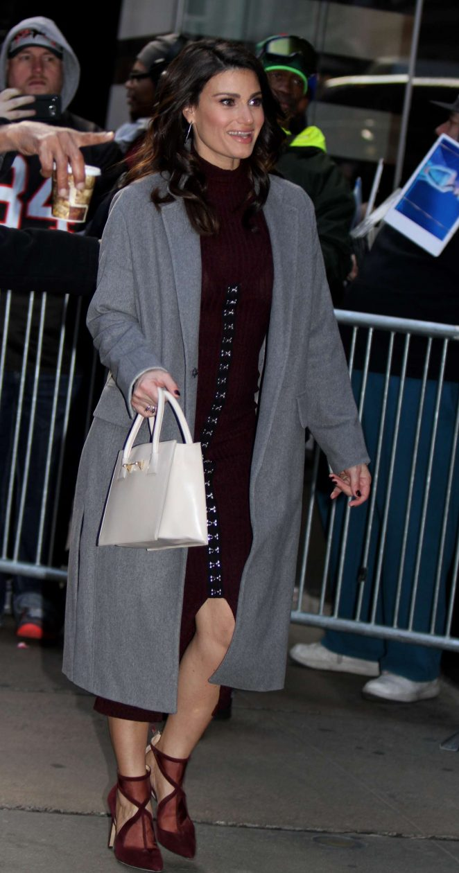 Idina Menzel out and about in Manhattan