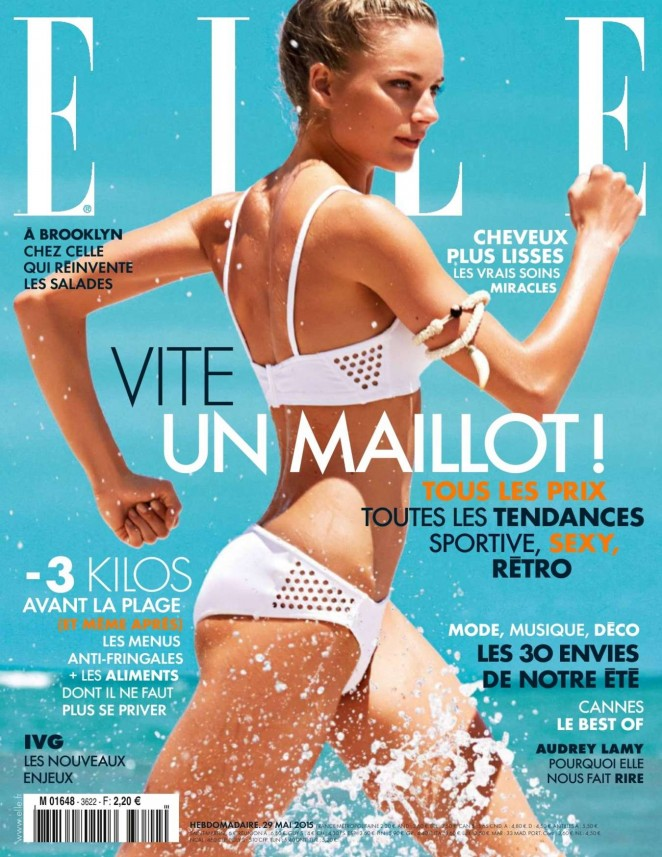 Ieva Laguna - Elle France Magazine (May 2015)
