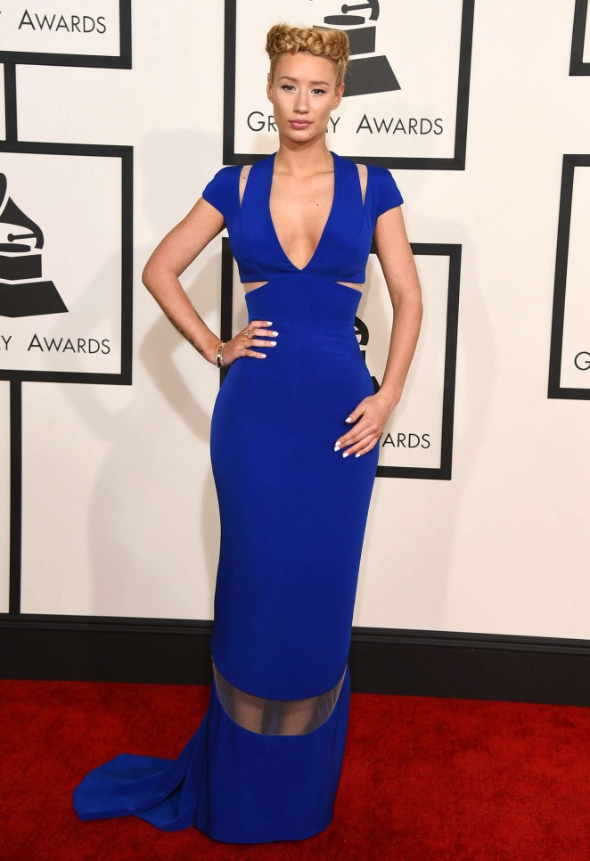 Iggy Azalea- GRAMMY Awards 2015 in Los Angeles