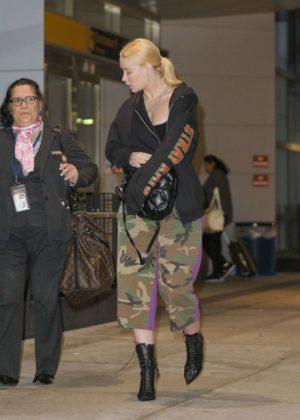 Iggy Azalea - Arrives at JFK airport in New York City