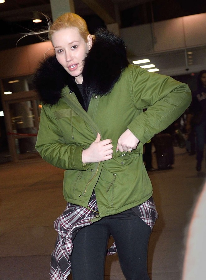 Iggy Azalea - Arrives at JFK Airport in New York
