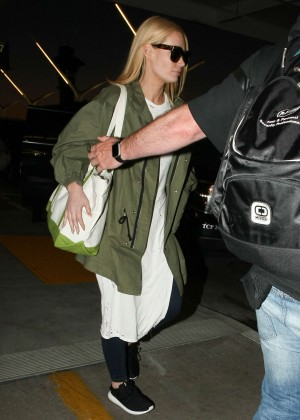 Iggy Azalea -  Arrives at LAX Airport in LA
