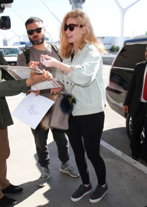 Iggy Azalea - Arrives at LAX airport in Los Angeles
