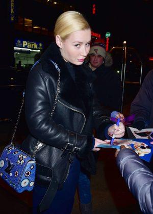 Iggy Azalea - Arriving at her midtown hotel in New York