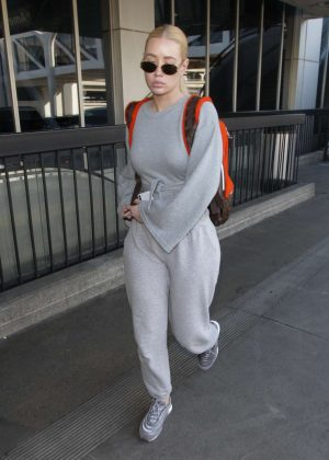 Iggy Azalea - Arriving at LAX Airport in Los Angeles