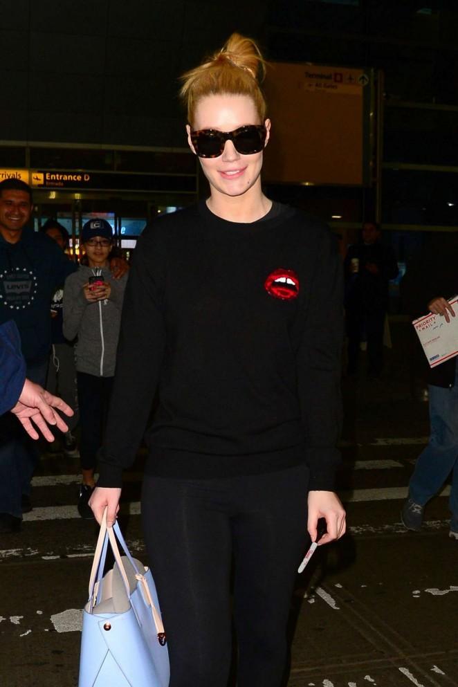 Iggy Azalea at JFK Airport in NY