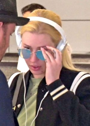 Iggy Azalea at LAX Airport in LA