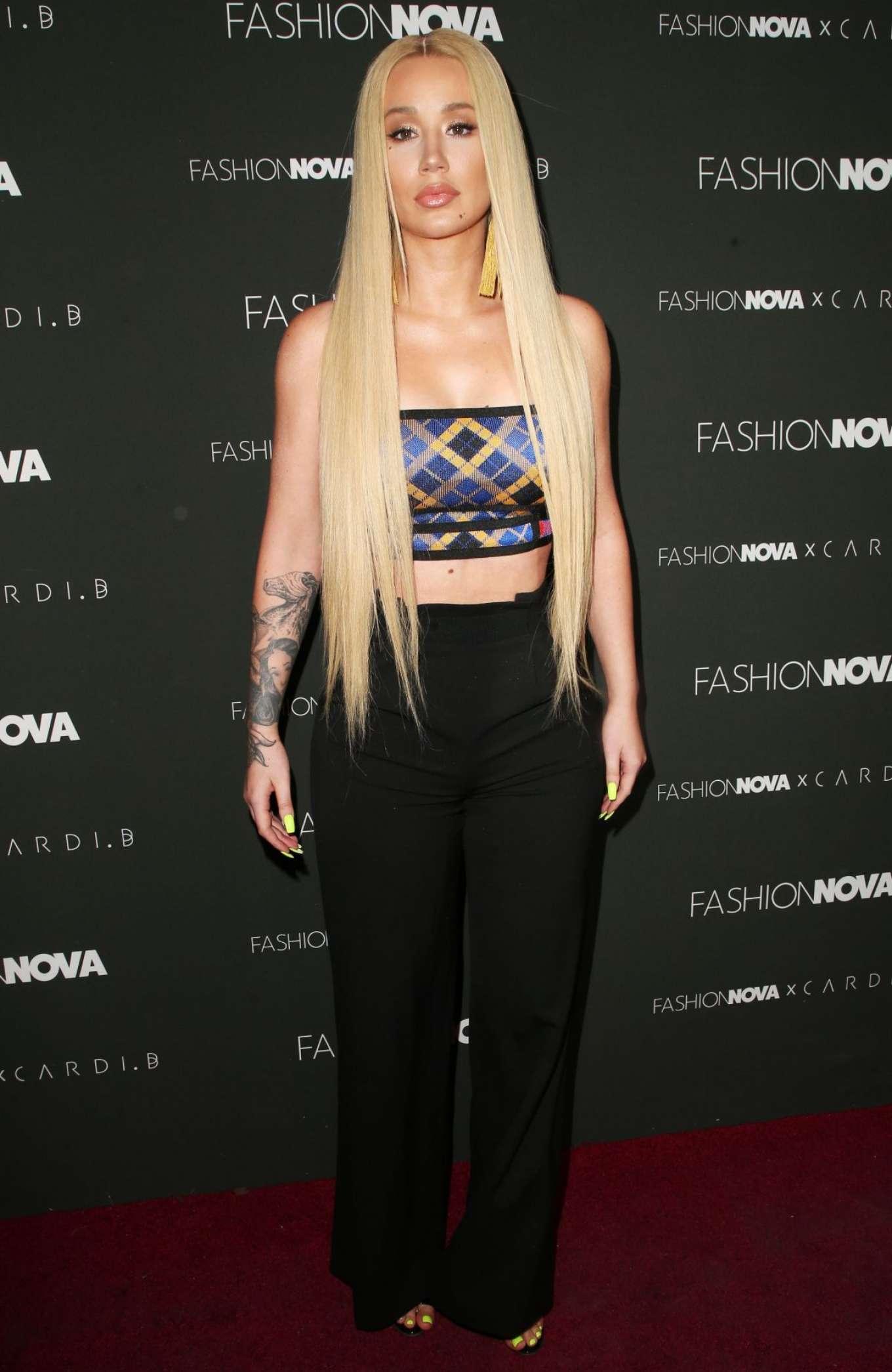 Iggy Azalea 2018 : Iggy Azalea: Fashion Nova x Cardi B Event -01