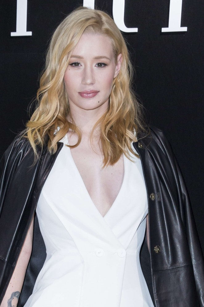 Iggy Azalea - Haute Couture Fashion Show Giorgio Armani Prive SS 2016 in Paris