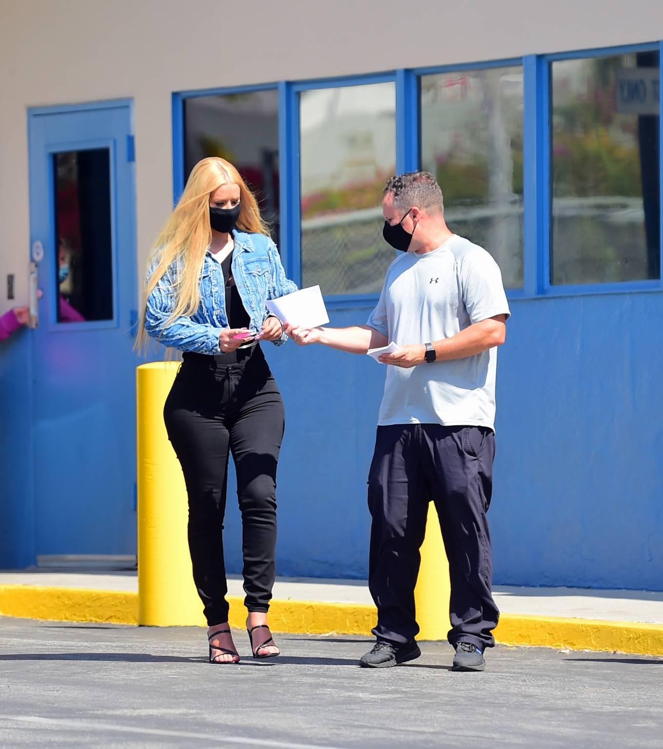 Iggy Azalea 2020 : Iggy Azalea – Hits the DMV in Hollywood-17
