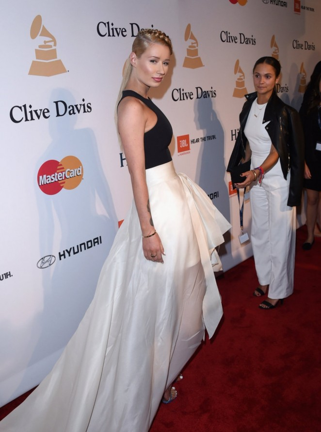 Iggy Azalea – Pre-GRAMMY Gala and Salute To Industry Icons in Los Angeles