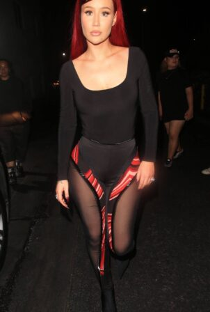 Iggy Azalea - Seen while leaving Rocco's in West Hollywood