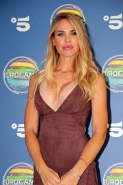 Ilary Blasi - Photocall TV Show Eurogames Canale 5 in Milano
