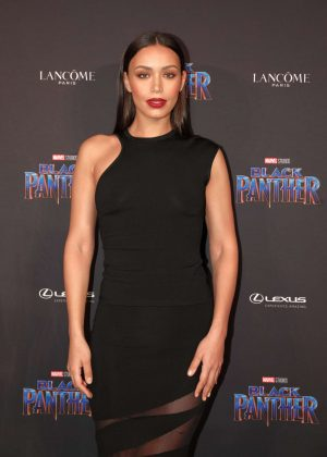 Ilfenesh Hadera - 'Black Panther' Welcome to Wakanda NYFW Showcase in New York