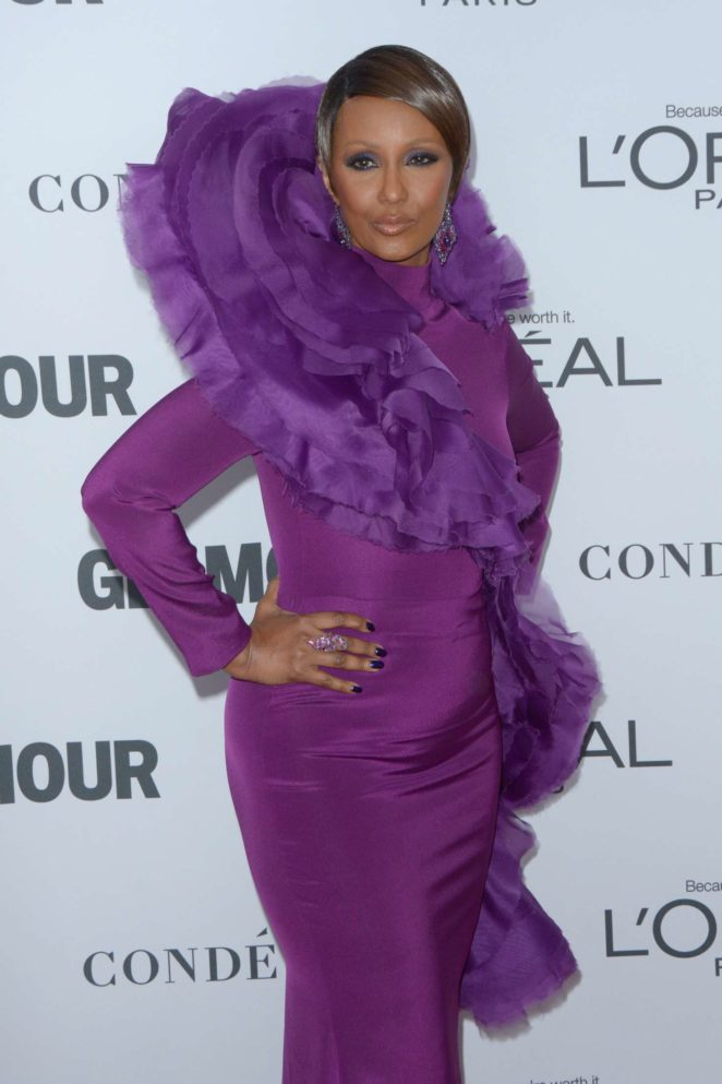 Iman - 2017 Glamour Women of The Year Awards in NY