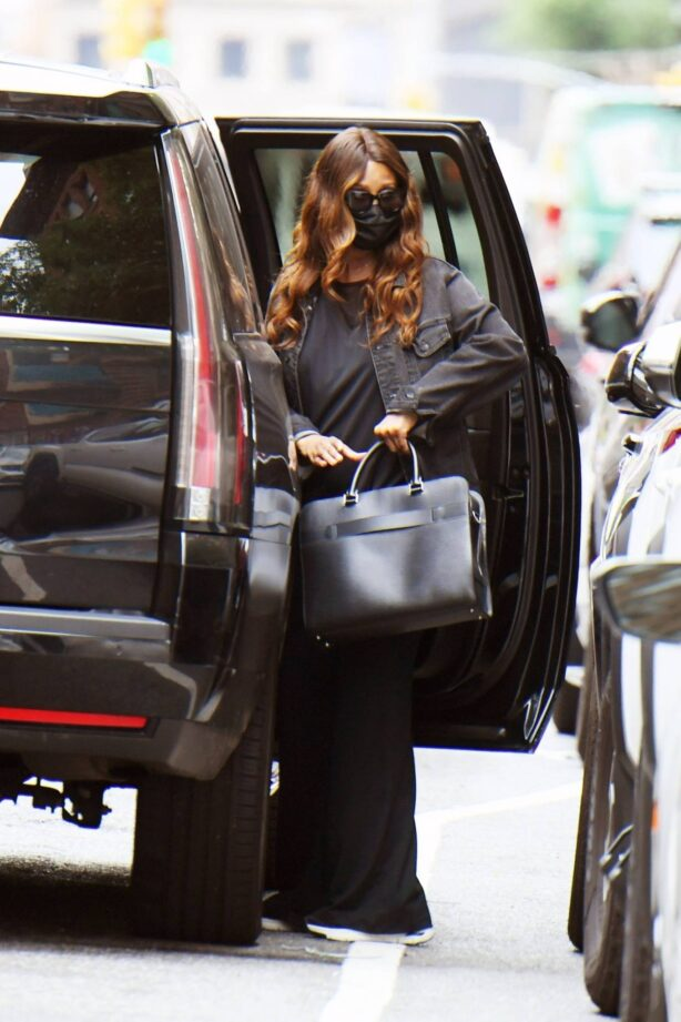 Iman - Steps out in Soho - New York