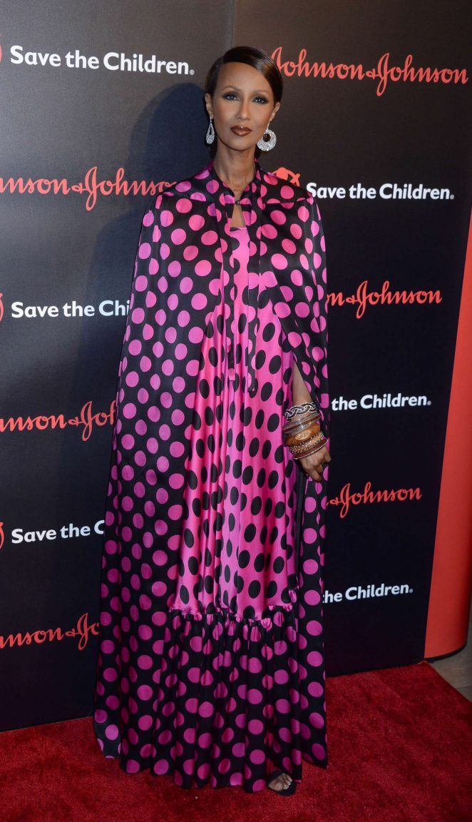 Iman - The 4th Annual Save The Children Illumination Gala in NY