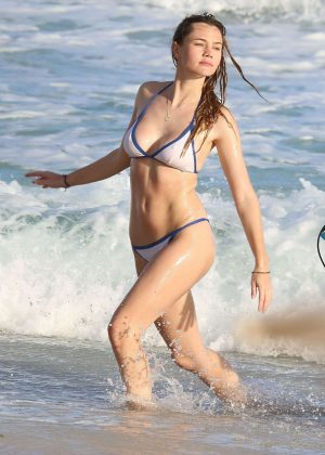 Immy Waterhouse in Bikini in Barbados