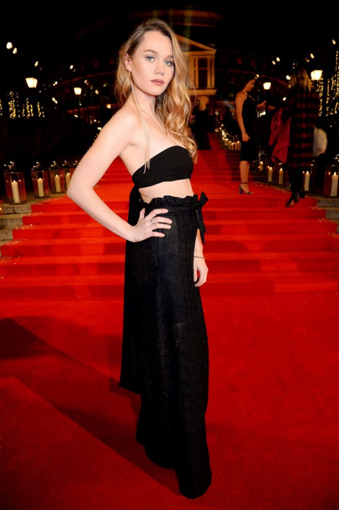 Immy Waterhouse - The Fashion Awards 2016 in London