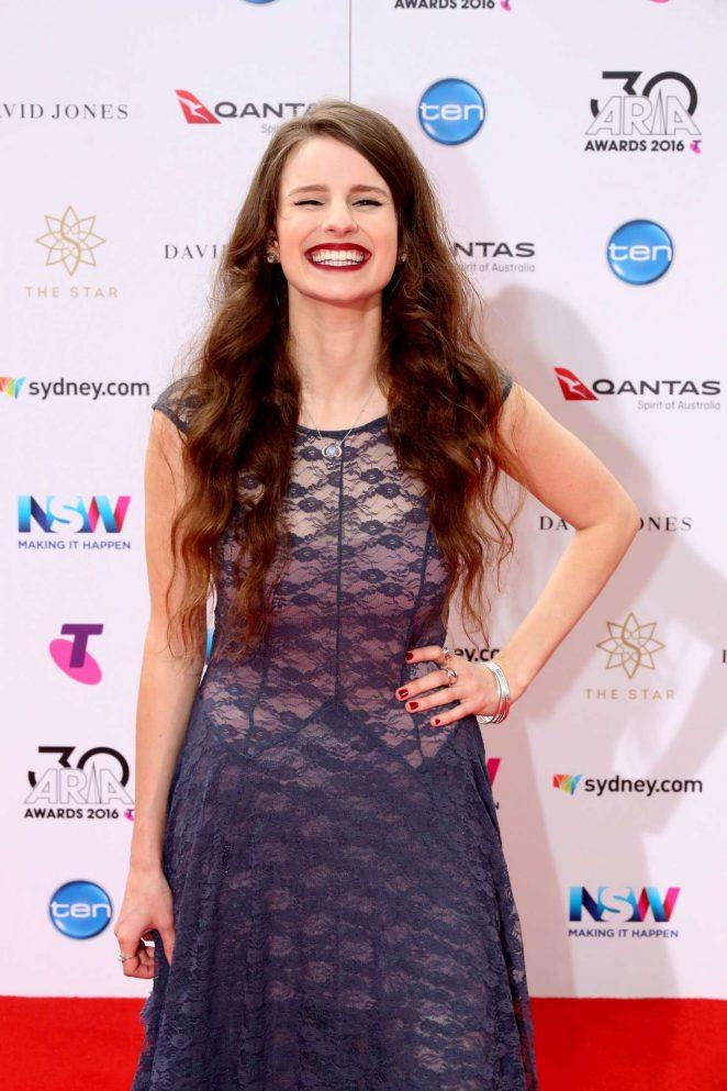 Imogen Clark - 2016 ARIA Awards in Sydney