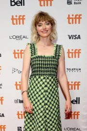 Imogen Poots - 'Castle In The Ground' Premiere - Toronto International Film Festival 2019