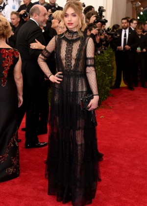 Imogen Poots - 2015 Costume Institute Gala in NYC