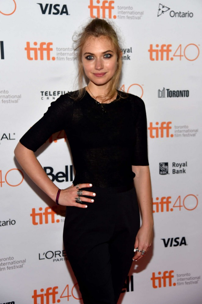 Imogen Poots - 'Green Room' Premiere during the 2015 TIFF