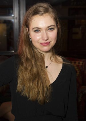 Imogen Poots - 'Who's Afraid of Virginia Woolf?' Play in London
