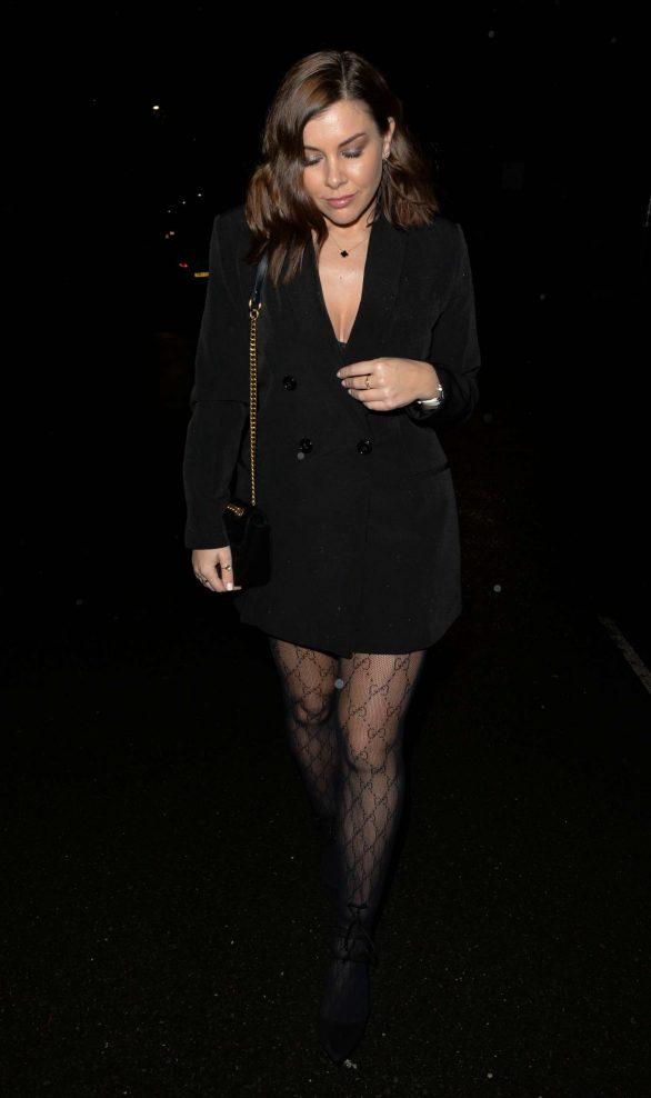 Imogen Thomas - Arrives at Bagatelle in London