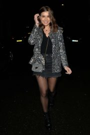 Imogen Thomas - Arrives at Novikov Restaurant in Mayfair