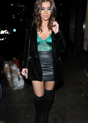 Imogen Thomas - Arrives at The Never Fully Dressed VIP Dinner in London