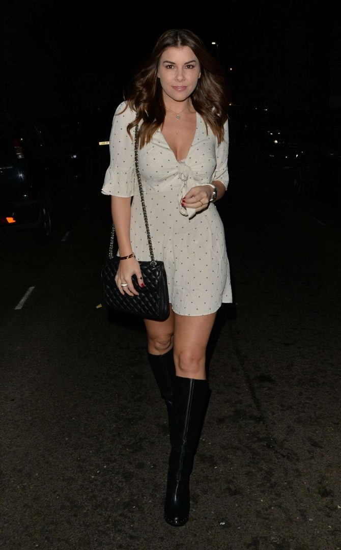 Imogen Thomas at Beaufort House Chelsea in London
