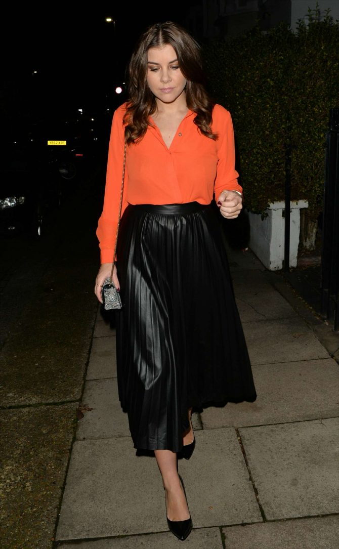 Imogen Thomas at Bluebird Chelsea in London