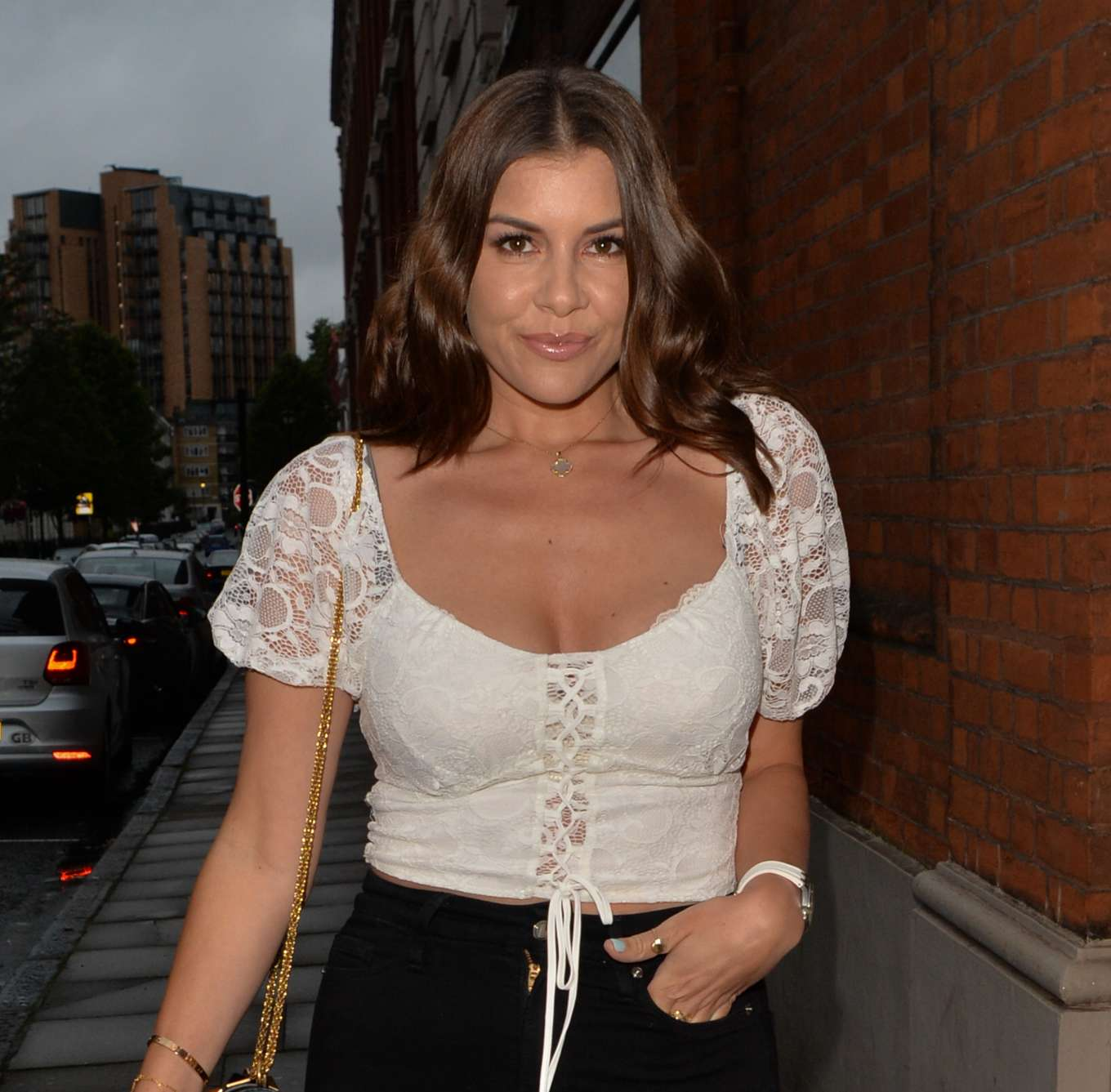 Imogen Thomas - At Chiltern Firehouse in London