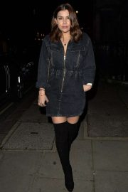 Imogen Thomas at the Onima restaurant in Mayfair