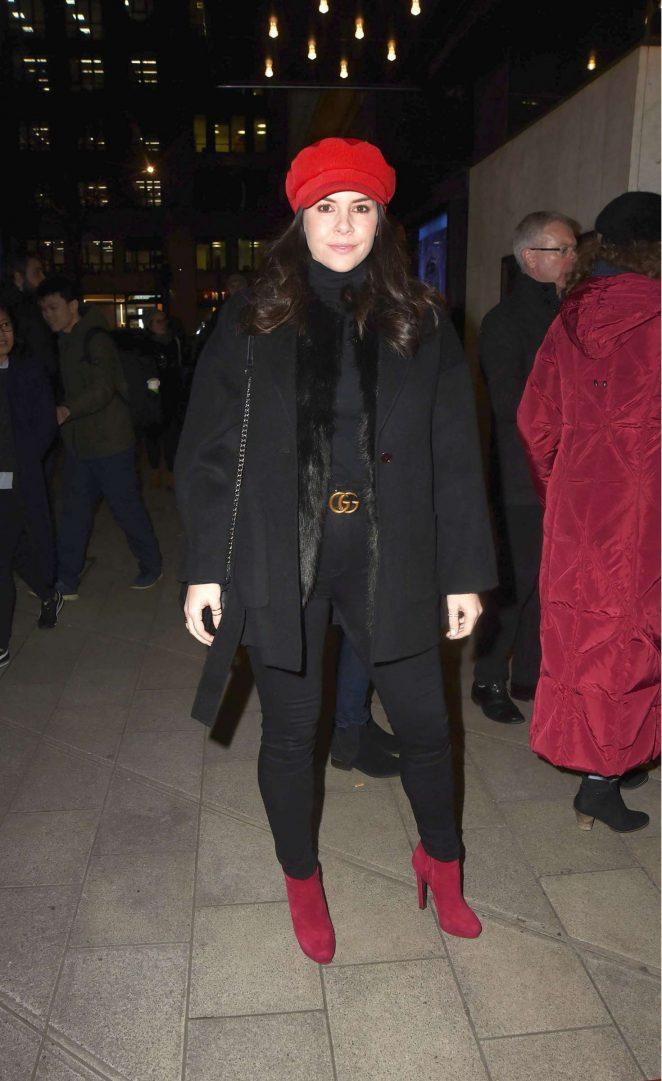 Imogen Thomas - Cirque Berserk Play Press Night in London