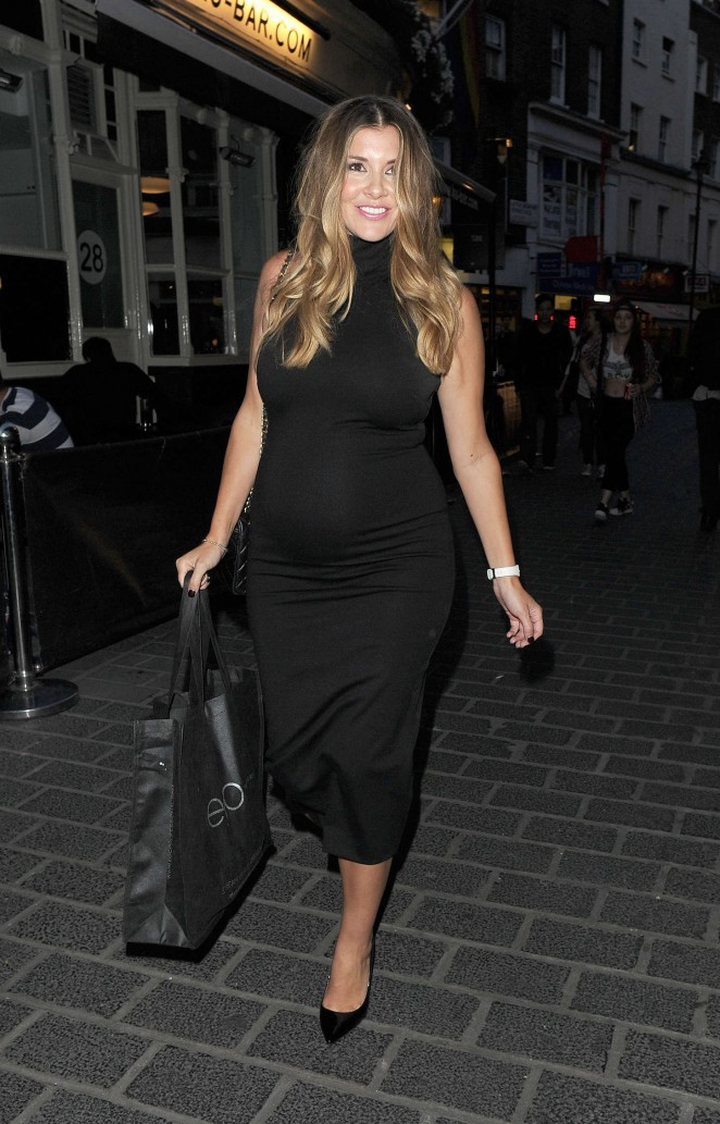 Imogen Thomas - National Blow Dry Day Event in London
