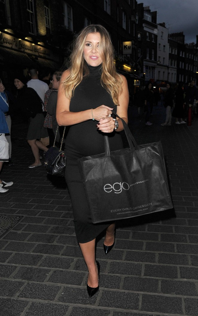 Imogen Thomas: National Blow Dry Day Event -18