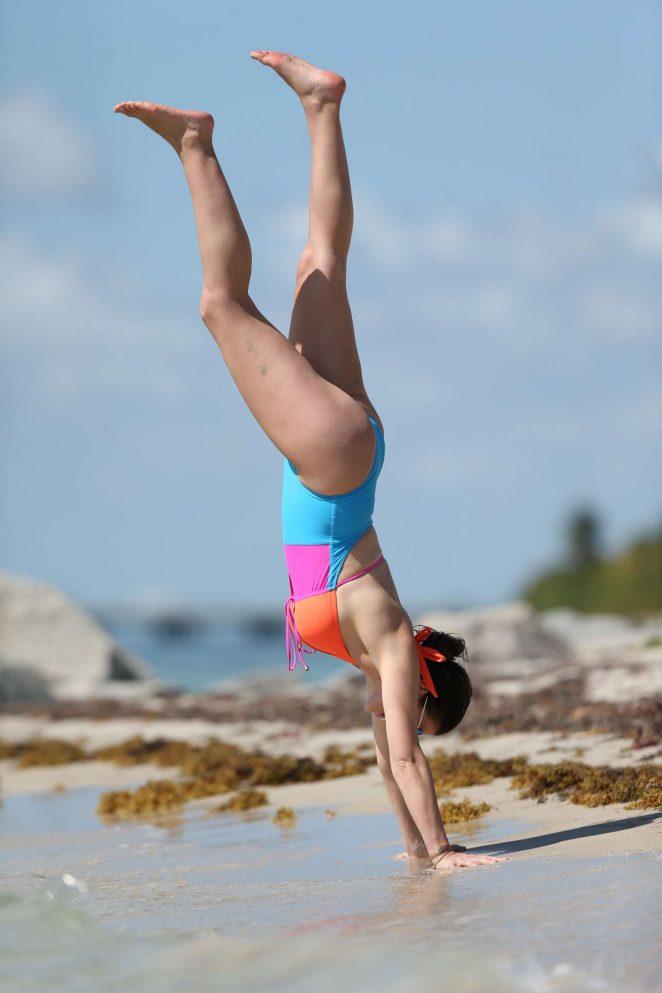 Imogen Thomas in Swimsuit 2017 -08