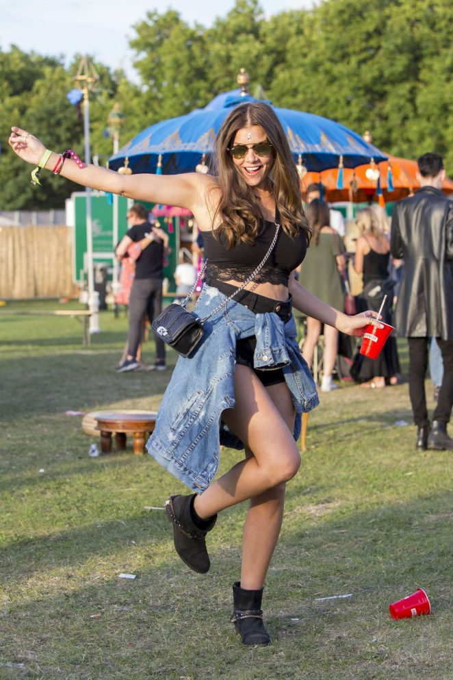 Imogen Thomas - Lovebox Festival 2017 in London