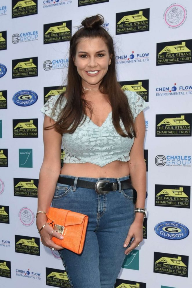 Imogen Thomas - Paul Strank Charitable Trust Summer Party in London