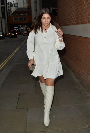 Imogen Thomas - Pictured while leaving Zuma restaurant