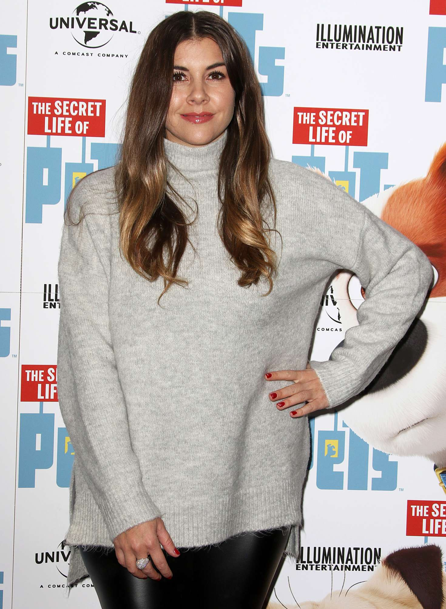 Imogen Thomas - The Secret Life of Pets UK DVD Release Party in London